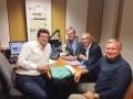 2013, Il Trio alla Radio Vaticana