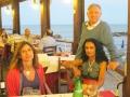 2014, Anzio (Roma), con Francesca e mia sorella Silvia