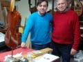 2016, gennaio , col liutaio Frignani, Modena