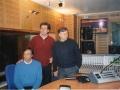 2003, Colonia, il Trio agli studi della WDR