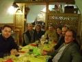 2006, Riva del Garda (Trento), cena di commiato coi colleghi del Conservatorio