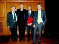 2009, Roma, Il Trio al Parco della Musica con Pierluigi Corona