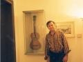 1997, Vienna (Austria), casa-museo e chitarra di Franz Schubert